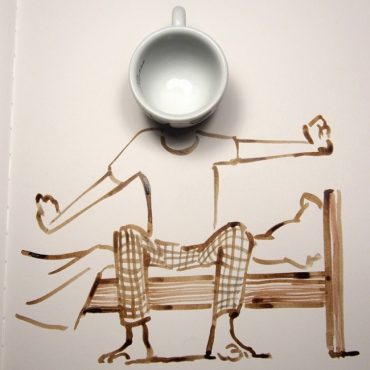 creative-sketches-drawings-using-everyday-objects-17